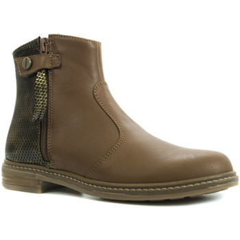 Chaussures Fille Boots Babybotte Kenza Marron