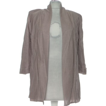 Vêtements Femme Gilets / Cardigans H&M Gilet Femme  34 - T0 - Xs Marron