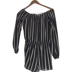 Vêtements Femme Combinaisons / Salopettes Forever 21 Combi-short  36 - T1 - S Bleu