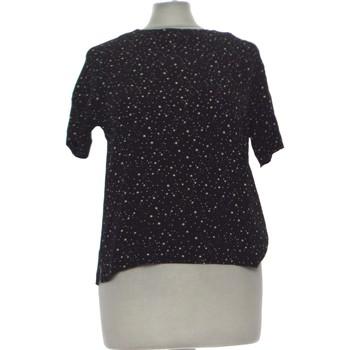 Vêtements Femme Tops / Blouses H&M Top Manches Courtes  34 - T0 - Xs Noir
