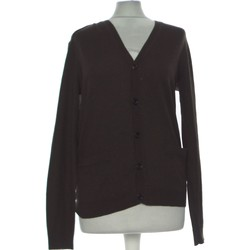Vêtements Femme Gilets / Cardigans H&M Gilet Femme  36 - T1 - S Marron