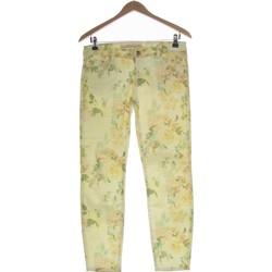 Vêtements Femme Jeans droit Zara Jean Droit Femme  34 - T0 - Xs Jaune