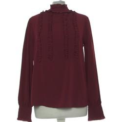Vêtements Femme Tops / Blouses Zara Top Manches Longues  36 - T1 - S Rouge