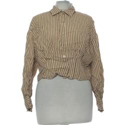 Vêtements Femme Chemises / Chemisiers Zara Chemise  36 - T1 - S Beige