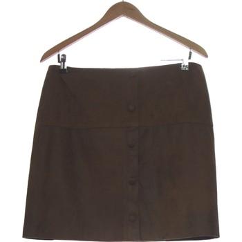 Vêtements Femme Jupes Breal Jupe Courte  40 - T3 - L Marron