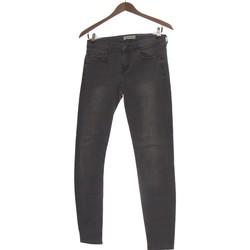 Vêtements Femme Jeans slim Zara Jean Slim Femme  36 - T1 - S Gris