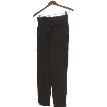 Vêtements Femme Pantalons fluides / Sarouels H&M Pantalon Droit Femme  34 - T0 - Xs Vert