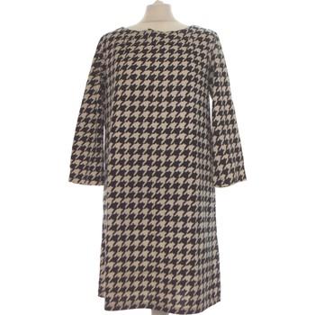 Vêtements Femme Robes courtes H&M Robe Courte  38 - T2 - M Beige