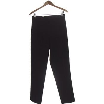 Vêtements Femme Chinos / Carrots H&M Pantalon Droit Femme  38 - T2 - M Noir