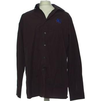 Vêtements Homme Chemises manches longues Christian Lacroix Chemise Manches Longues  46 - T6 - Xxl Violet