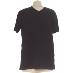 Vêtements Femme Tops / Blouses Zara Top Manches Courtes  38 - T2 - M Noir