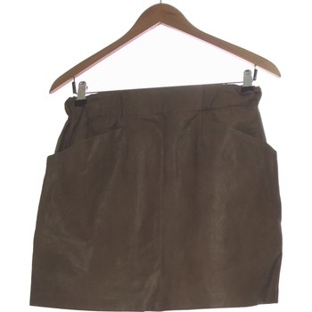 Vêtements Femme Jupes Zara Jupe Courte  36 - T1 - S Marron
