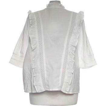 Vêtements Femme Tops / Blouses Ichi Top Manches Longues  36 - T1 - S Blanc