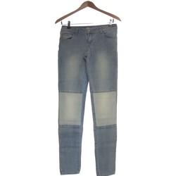 Vêtements Femme Jeans droit Promod Jean Droit Femme  36 - T1 - S Bleu