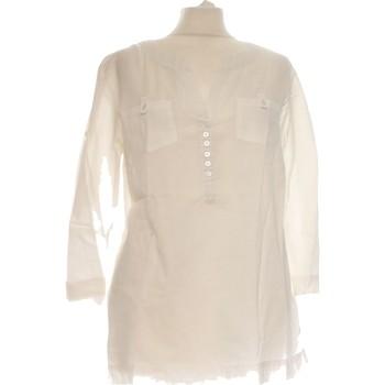 Vêtements Femme Tops / Blouses Etam Blouse  36 - T1 - S Blanc