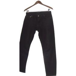 Vêtements Femme Jeans droit Zara Jean Droit Femme  34 - T0 - Xs Bleu