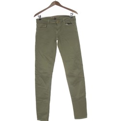 Vêtements Femme Jeans slim Zara Jean Slim Femme  38 - T2 - M Vert
