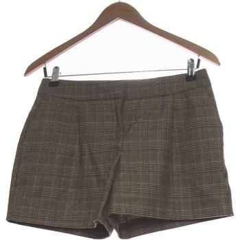 Vêtements Femme Shorts / Bermudas Naf Naf Short  34 - T0 - Xs Marron