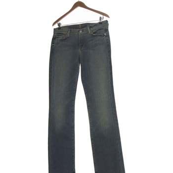 Vêtements Femme Jeans bootcut 7 for all Mankind Jean Bootcut Femme  38 - T2 - M Bleu