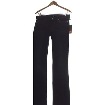 Vêtements Femme Jeans droit 7 for all Mankind Jean Droit Femme  36 - T1 - S Bleu