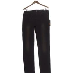 Vêtements Femme Jeans droit 7 for all Mankind Jean Droit Femme  40 - T3 - L Noir