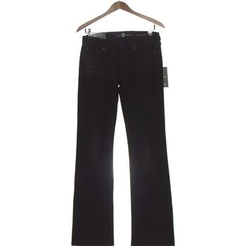 Vêtements Femme Jeans bootcut 7 for all Mankind Jean Bootcut Femme  36 - T1 - S Noir