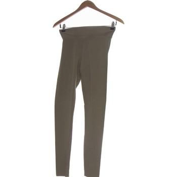 Vêtements Femme Pantalons H&M Pantalon Droit Femme  34 - T0 - Xs Marron