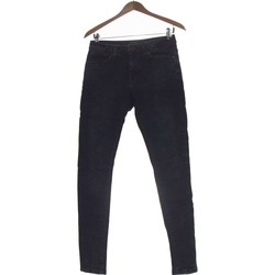 Vêtements Femme Jeans droit Bershka Jean Droit Femme  36 - T1 - S Bleu