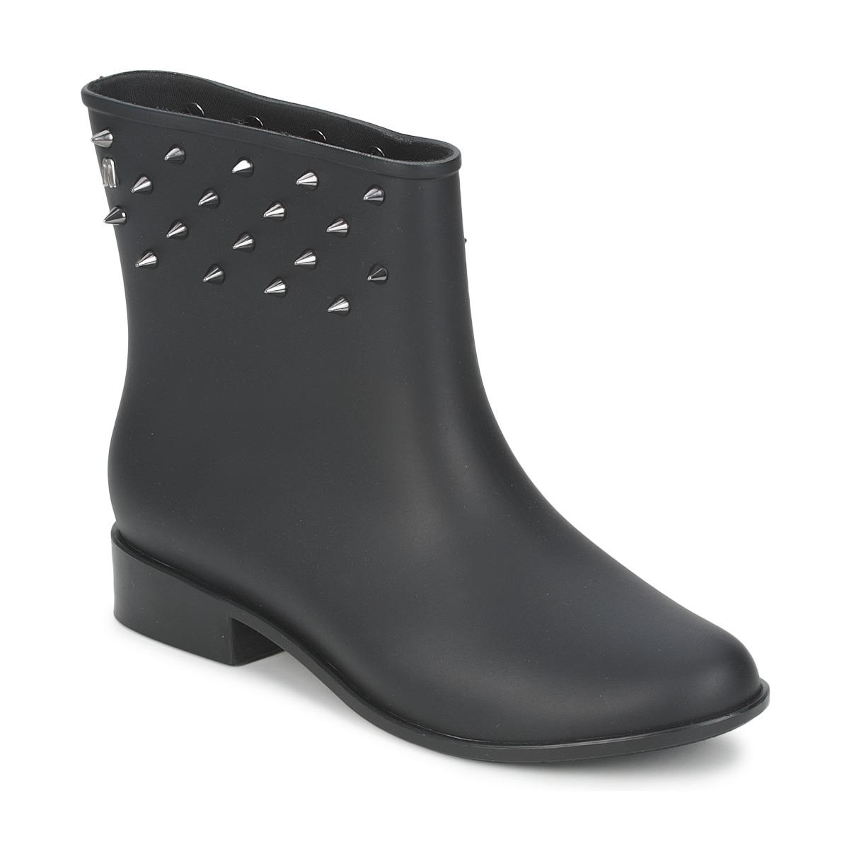 Melissa MOON DUST SPIKE Noir - Livraison Gratuite avec  - Chaussures Boot Femme