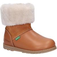 Chaussures Enfant Bottes de neige Kickers 878683-10 NONOFUR Marr?n