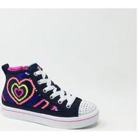 Chaussures Fille Baskets montantes Skechers TWI-LITES MULTI Multicolore