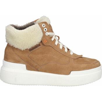 Chaussures Femme Bottes de neige Sansibar Bottines Hellbraun