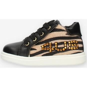Chaussures Fille Baskets montantes 4Us Paciotti 4U131 Noir