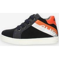 Chaussures Garçon Baskets montantes 4Us Paciotti 4U141 Bleu