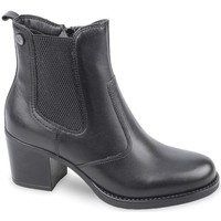 Chaussures Femme Boots Valleverde 47621 MID BOOTS Black