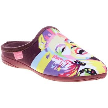 Chaussures Femme Chaussons La Maison De L'espadrille 6530.4 Prune