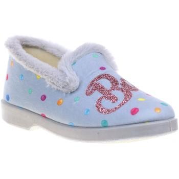 Chaussures Femme Chaussons La Maison De L'espadrille 7658.4 Bleu