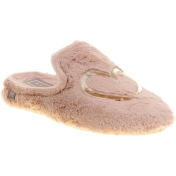 Chaussures Femme Chaussons La Maison De L'espadrille ANAIS99 Rose
