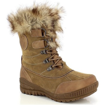 Chaussures Femme Bottes de neige Kimberfeel DELMOS Taupe