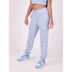 Vêtements Femme Pantalons de survêtement Project X Paris Jogging Bleu Ciel