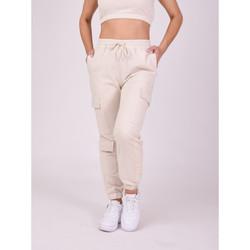 Vêtements Femme Pantalons de survêtement Project X Paris Jogging Ivoire
