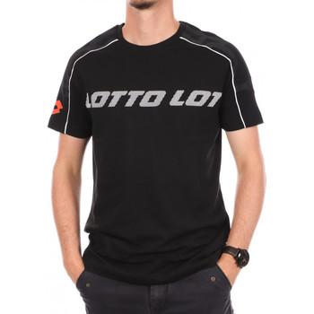 Vêtements Homme T-shirts manches courtes Lotto -215584 Noir