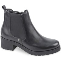 Chaussures Femme Boots Valleverde 16121 tronchetto Black