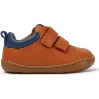 Chaussures Fille Baskets mode Camper Baskets cuir PEU CAMI orange