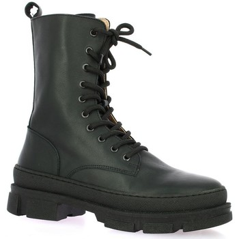Chaussures Femme Boots Exit Boots cuir Noir