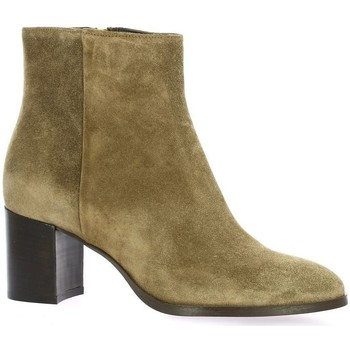 Chaussures Femme Boots Exit Boots cuir velours Taupe