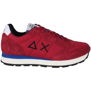 Chaussures Homme Baskets mode Sun68 Tom solid nylon z41101 10 Rouge