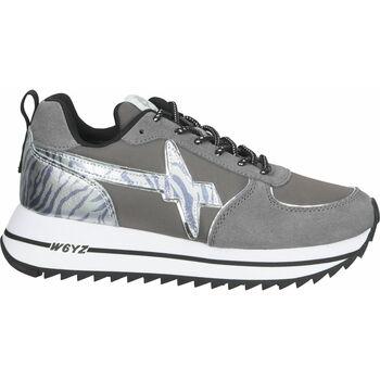 Chaussures Femme Baskets basses W6yz Sneaker Grau/Weiß