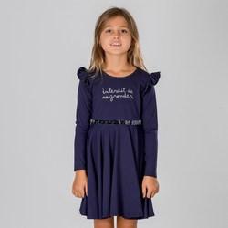 Vêtements Fille Robes courtes Interdit De Me Gronder NIKITA Bleu marine