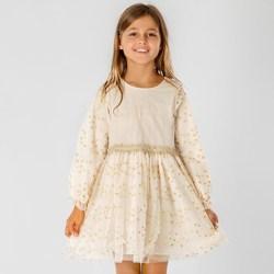 Vêtements Fille Robes courtes Interdit De Me Gronder MISS Ecru